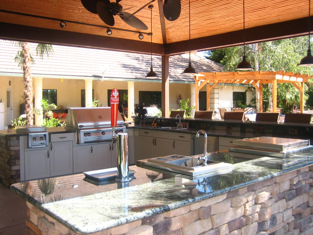 Outdoor Kitchens Fire Pits Grills In Tampa Bay Largo FL - Outdoor kitchens tampa